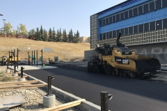asphalt paving contractor calgary parking lot
