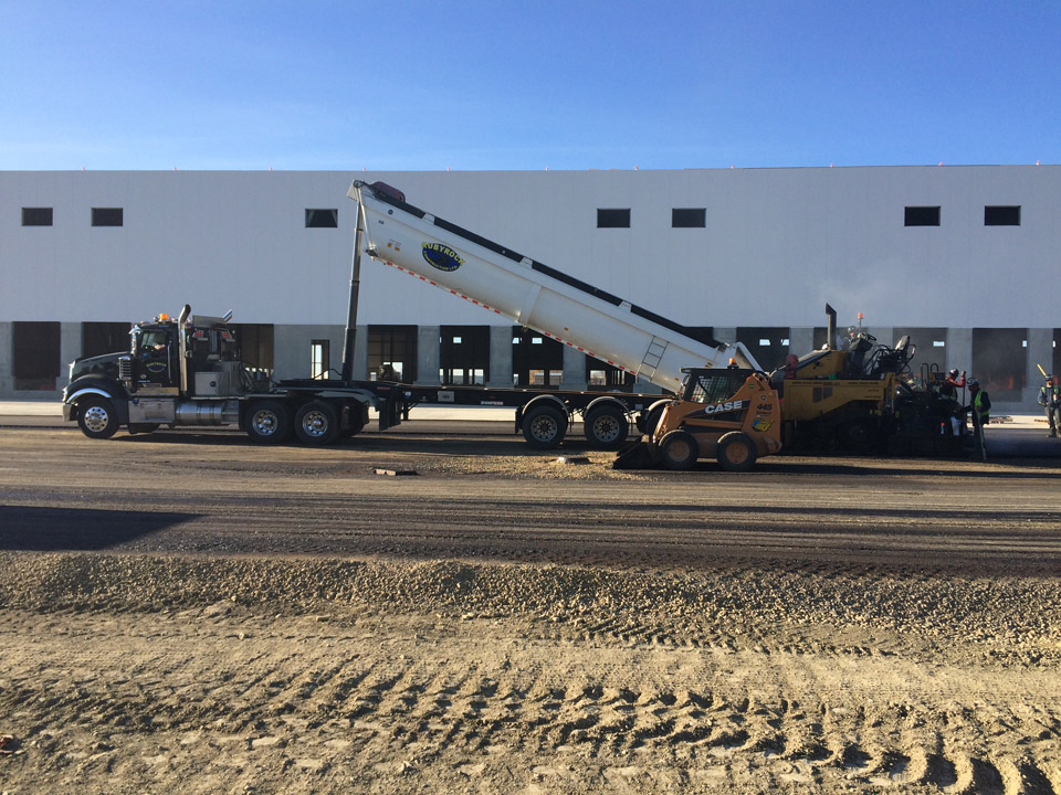 commercial paving calgary high plains