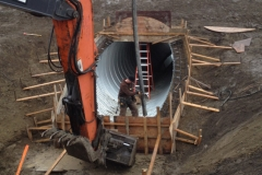 calgary construction concrete culvert treatment