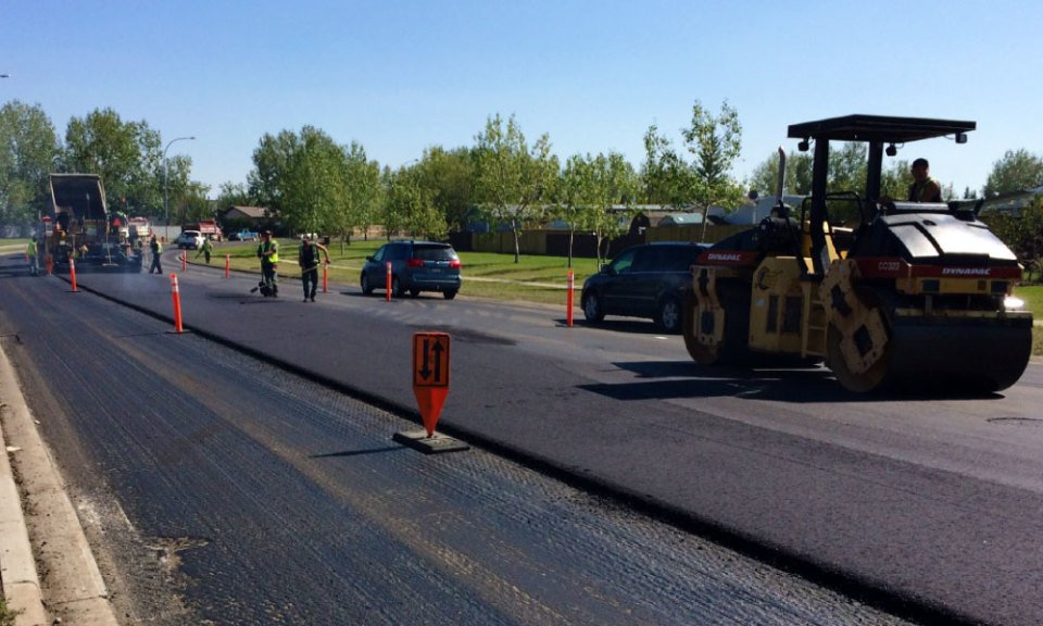 calgary asphalt road construction