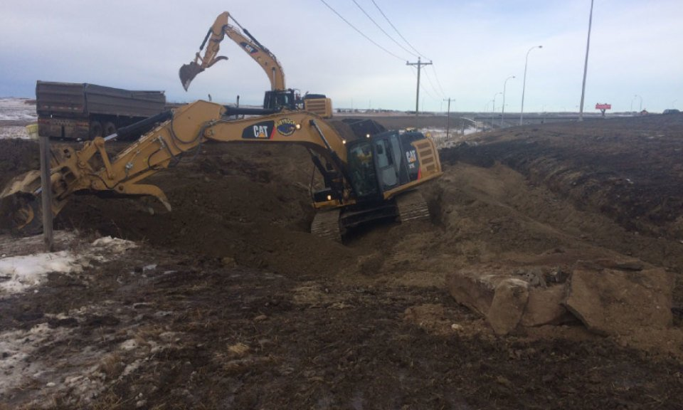 calgary construction services excavating
