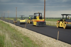 alberta asphalt highway interchange construction
