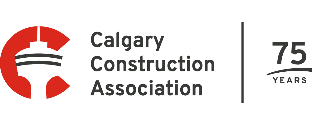 Calgary Construction Association - 75 Years - Logo